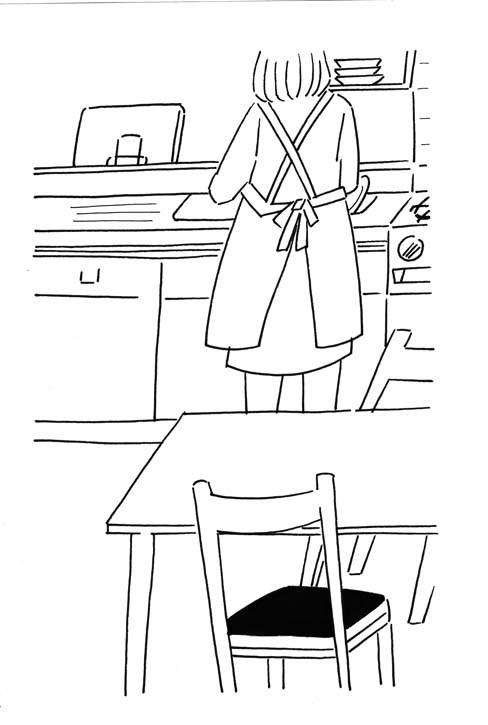 つまらない住宅地イラスト02