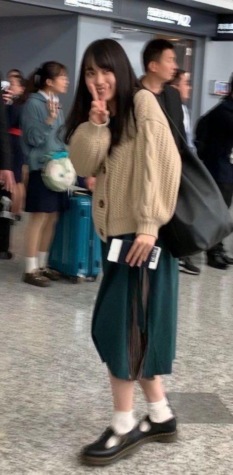 乃木坂46上海公演 賀喜遥香 私服