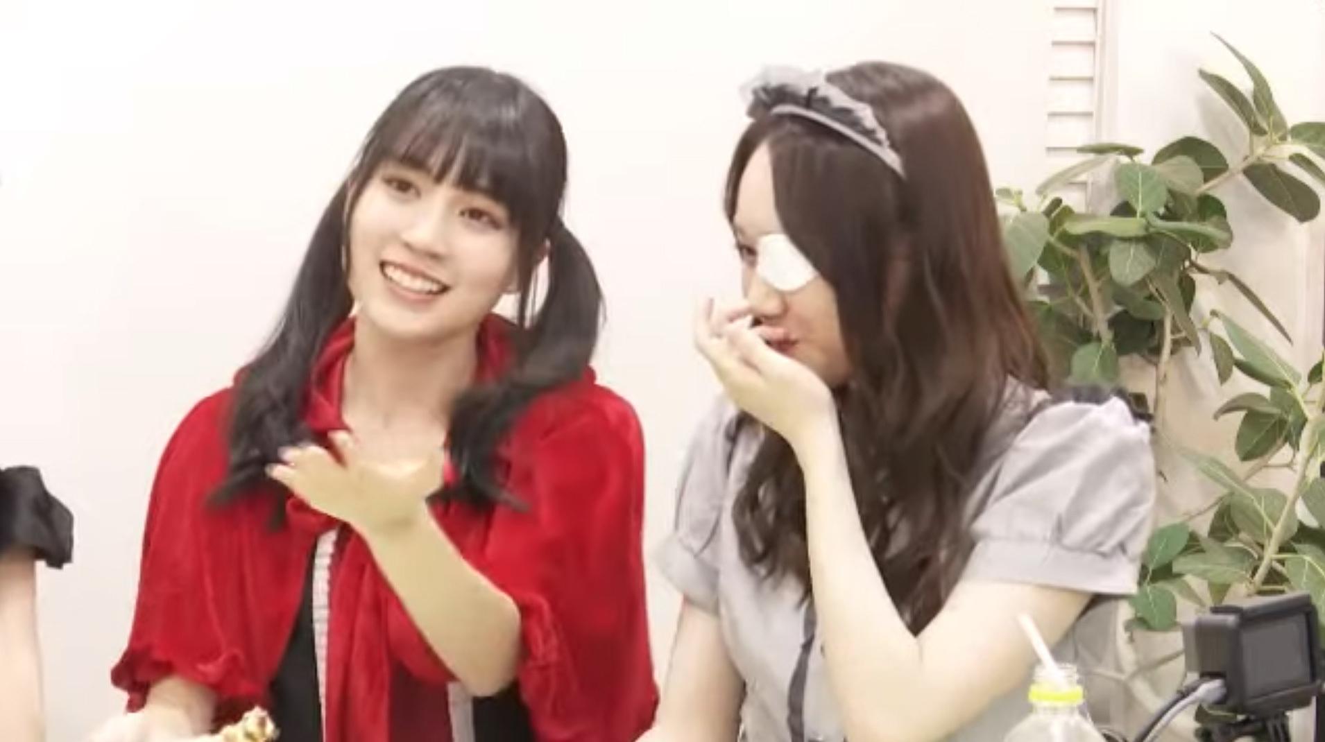 乃木坂46「猫舌SHOWROOM」 賀喜遥香 おでこ