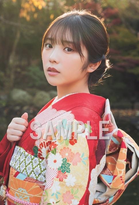 B.L.T.2020年2月号 セブンネット限定特典ポストカード 与田祐希