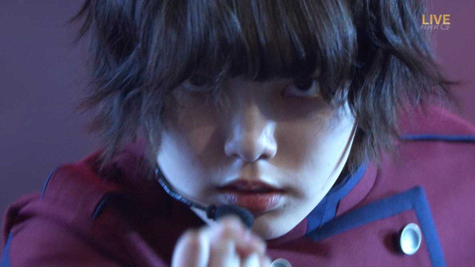 紅白 欅坂46『不協和音』 平手友梨奈