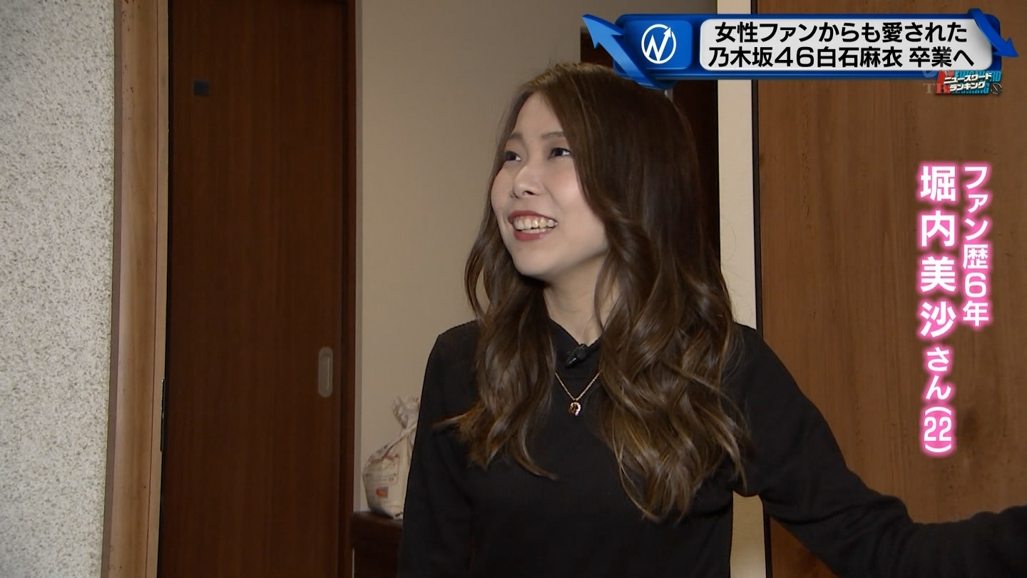 Nキャス 石麻衣ファン歴6年の女性の自宅