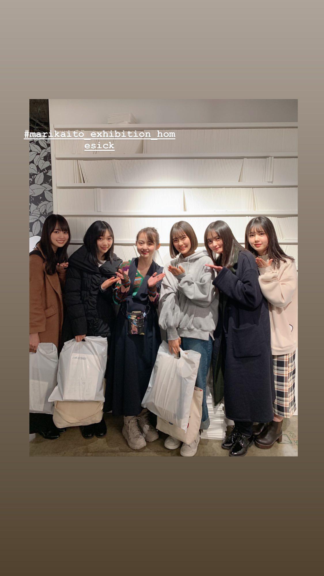 伊藤万理華EXHIBITION HOMESICK 乃木坂4期生