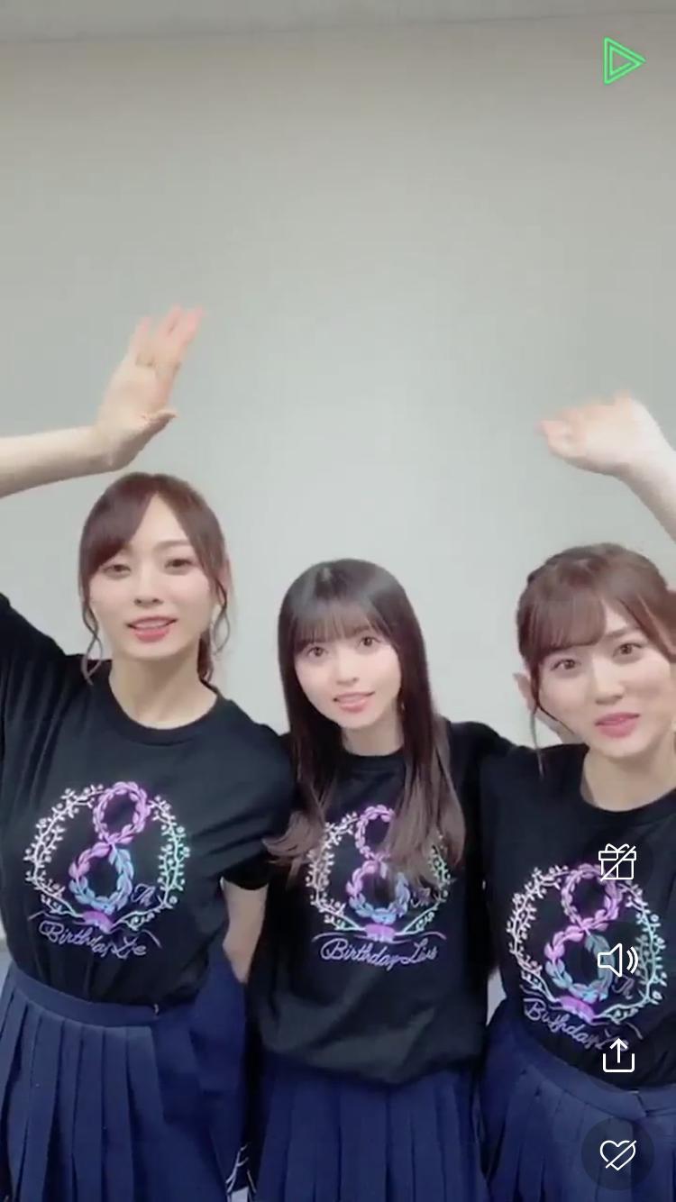 齋藤飛鳥・山下美月・梅澤美波『映像研には手を出すな!』ライブ