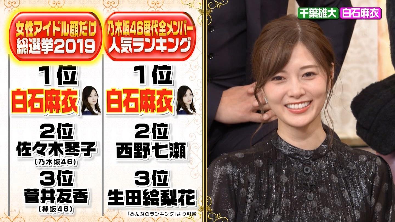乃木坂46歴代全メンバー人気ランキング