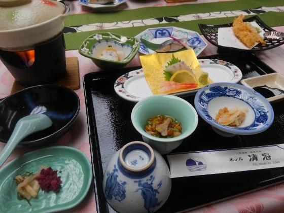 ホテル清風昼食