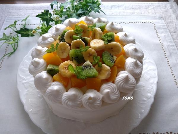 20206月誕生日ケーキ