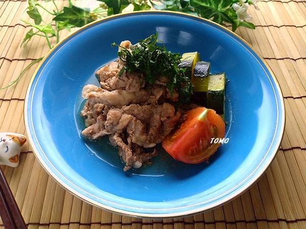 豚肉とズッキーニの煮物