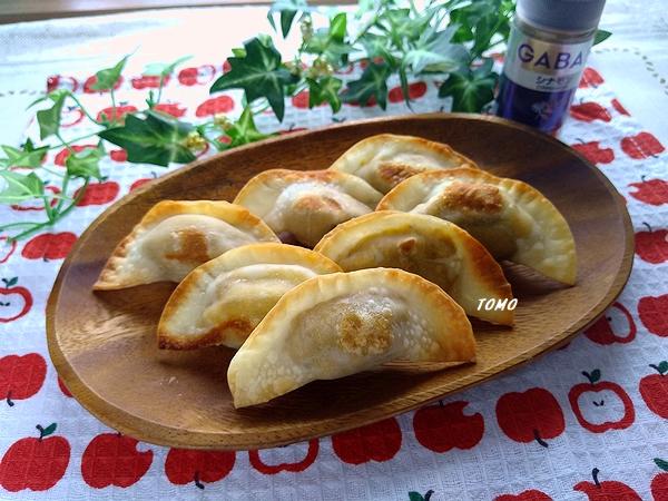 カボチャの餃子パイ