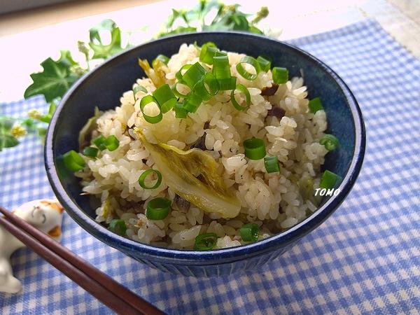 嬬恋高原キャベツとサバ缶の炊き込みご飯」