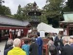 R11007齋藤實顕彰会にて鹽竈神社へ