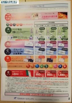 TOKAI HD 優待案内02 201909