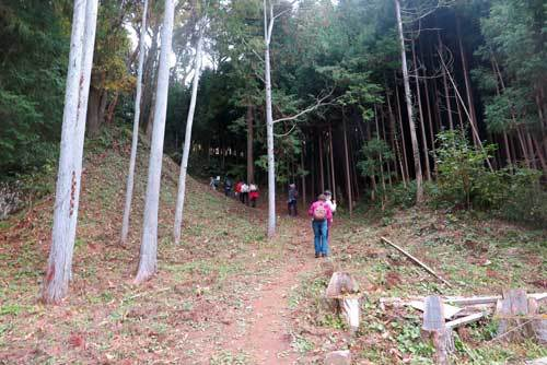 191124松山城跡へ