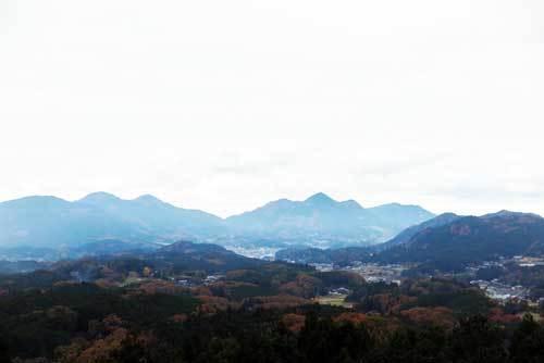191124松山城跡から