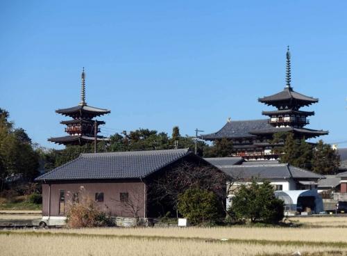 191225薬師寺双塔