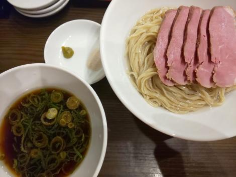 鴨と地鶏のつけ麺