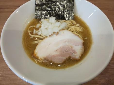 煮干鶏白湯