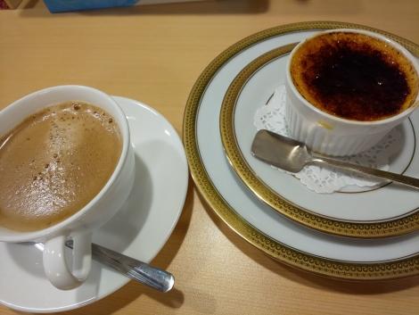 濃厚クレームブリュレ(コーヒー付)