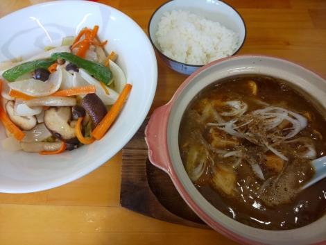 マーボつけ麺