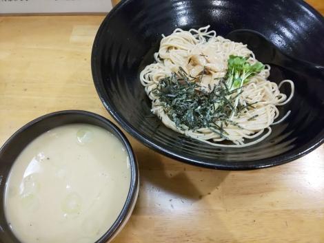 塩ボンゴレつけ麺