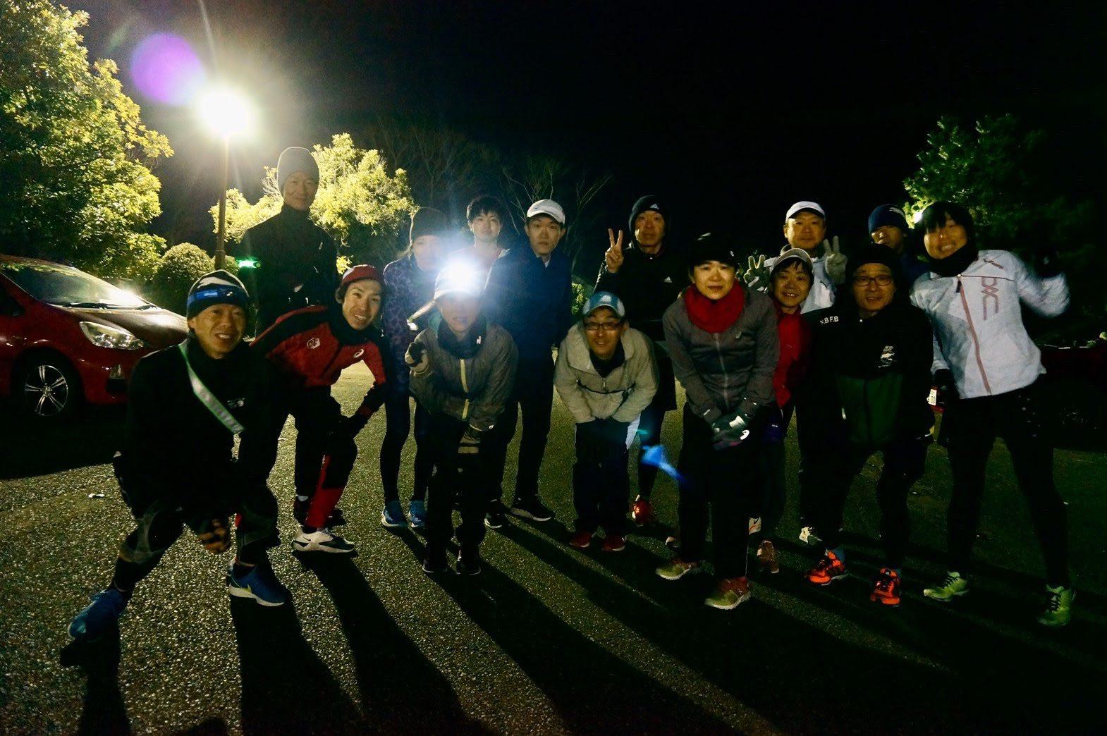 東京マラソン1ヶ月と5日前の練習