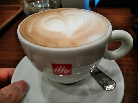 イタリア系カフェ illy へ行って来ました!4