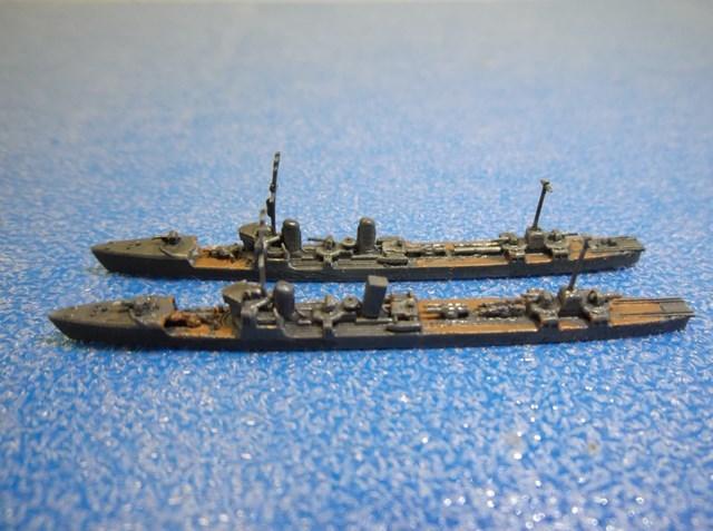 1/2000 神風型&第一号型哨戒艇 - けんけんの模型工房