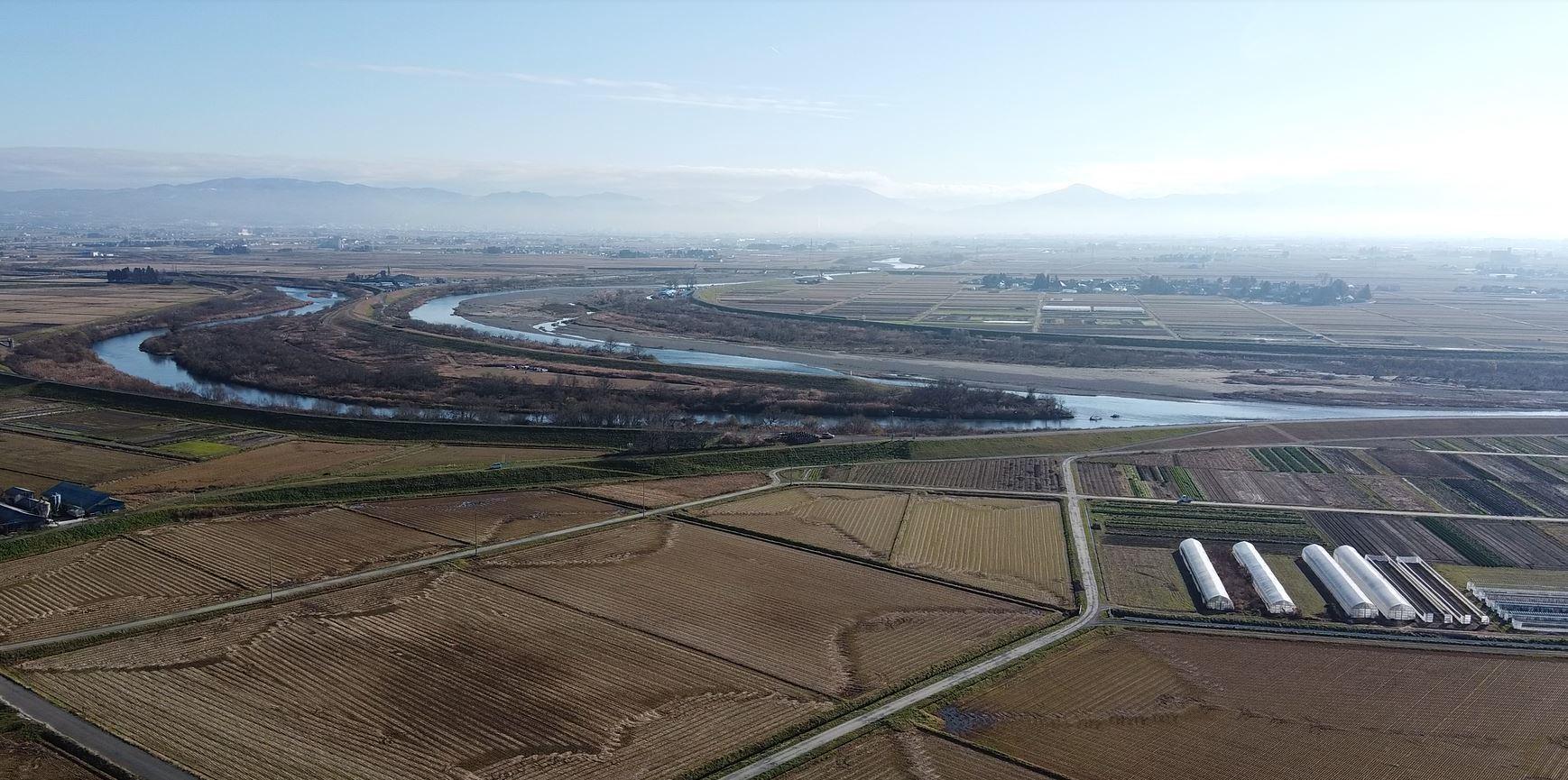日橋川と大川