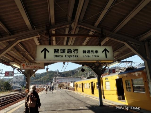 上郡駅ホーム