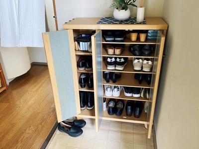 靴箱整理②