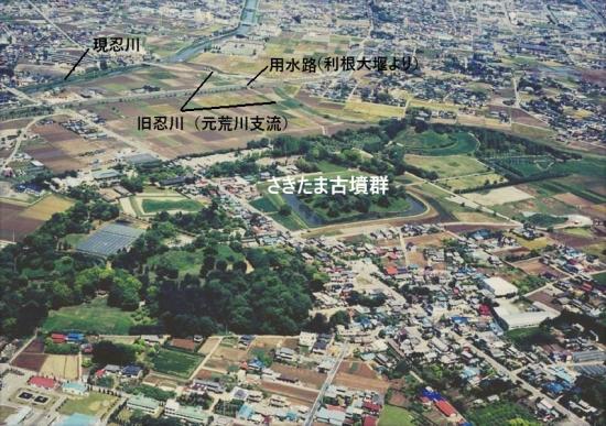古代北関東の水利と古墳配置10