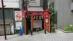 宝童稲荷神社1 銀座散策6