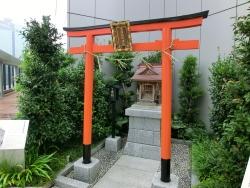 銀座 靍護稲荷神社 銀座散策6