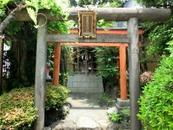 上野松坂屋 靍護稲荷神社 銀座散策6