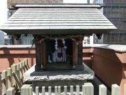 銀座ライオン 神社 銀座散策7