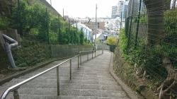 フェリス女学院脇の階段 横浜山手歴史記事