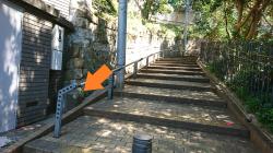 居留地境界石 外人墓地脇の坂1 横浜山手歴史記事