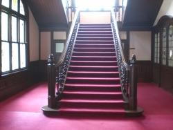 旧島津侯爵邸 階段 銀座散策9