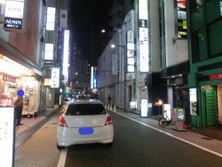 銀座Nanae付近 夜 銀座散策9