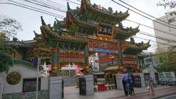 媽祖廟 横浜中華街記事