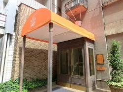 ホテル入口 サン・ミケーレ記事