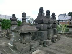 清光院墓所 ゼームス坂散策2