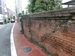 天龍寺脇の煉瓦塀 ゼームス坂散策2