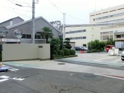 日本ペイント入り口 ゼームス坂散策2