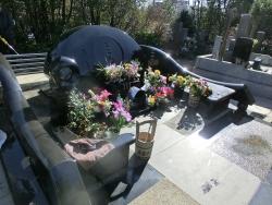 島倉千代子の墓2 ゼームス坂記事3