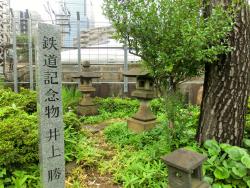 井上勝の墓1 ゼームス坂散策4