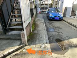 不自然な長方形 白金台三田用水記事1