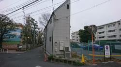 非常に細い建物 港区白金台三田用水記事2