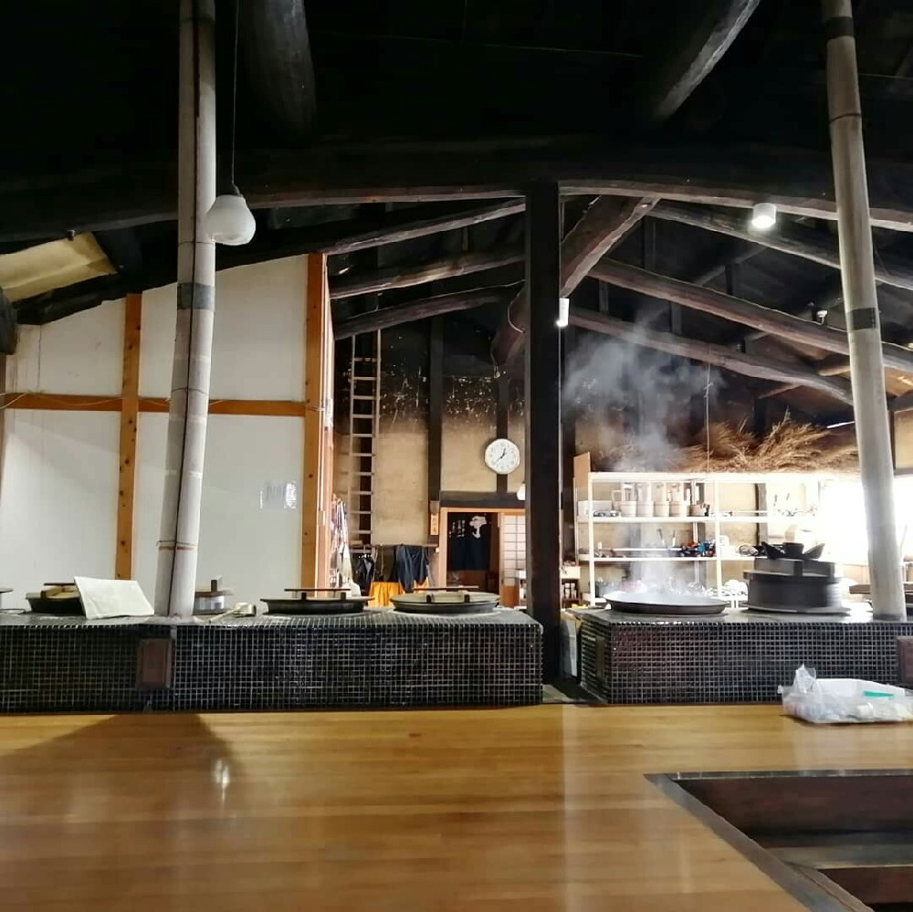 興聖寺の台所
