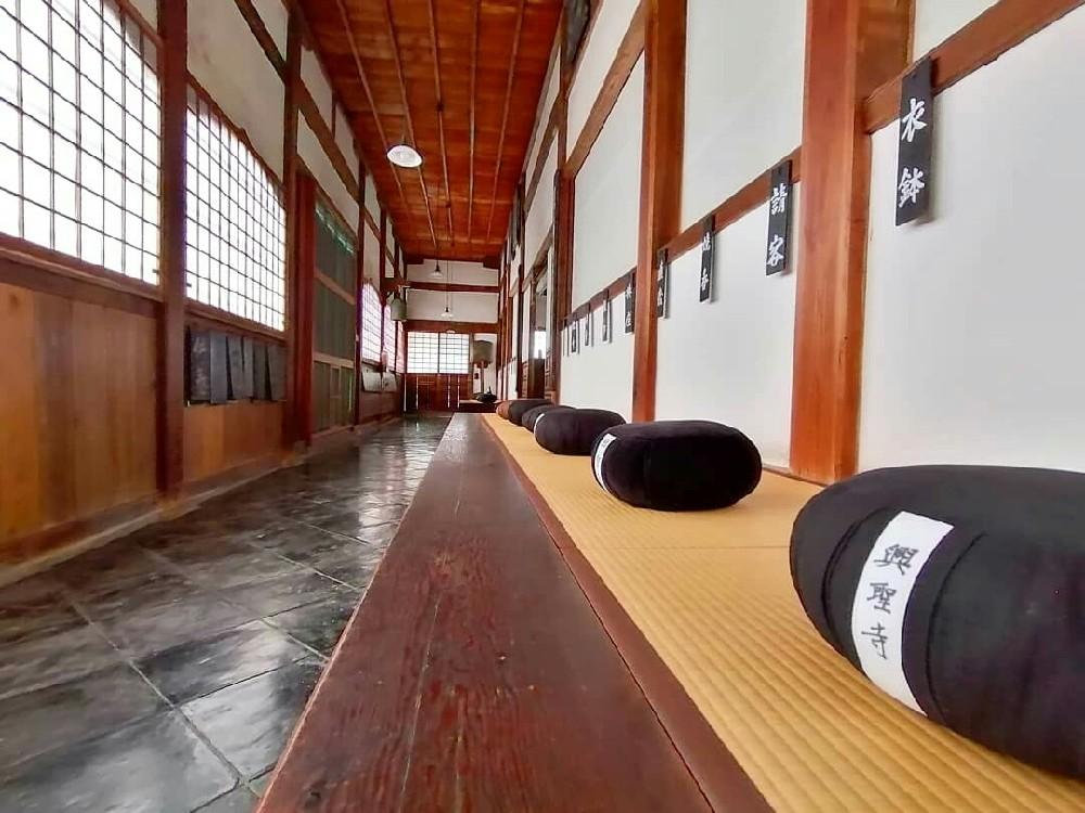 興聖寺の坐禅道場